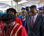 Robert Mugabe Swaps House Arrest for a Cap and Gown (Briefly)