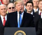 Trump celebrates tax bill with GOP leaders: 'We are making America great again'