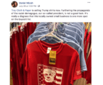 Snowflakes in August: People are Boycotting Troy Cloth & Paper for Selling a Generic Trump Shirt