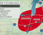 Multi-day severe weather threat to target millions across Midwest, Northeast