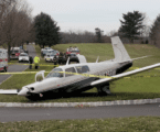 Small plane lands on NJ golf course