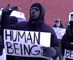 Protesters Rally Into The Night For Brooklyn Inmates In Freezing Jail Cells