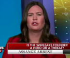 Sarah Sanders: Trump Was 'Making A Joke' When He Said He Loved Wikileaks